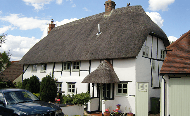 Thatched property, Letchworth